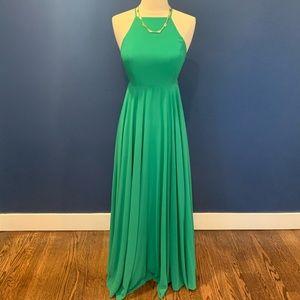 Lulu's Dresses - Lulus Green Maxi Dress (XS)